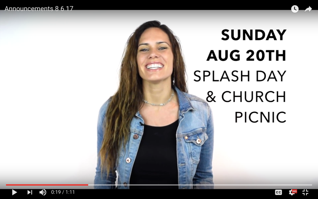 Vinelife Church Monday Morning Recap