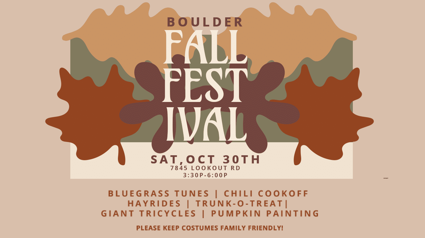 Vinelife Church is hosting a Fall Festival on October 30th, 2021